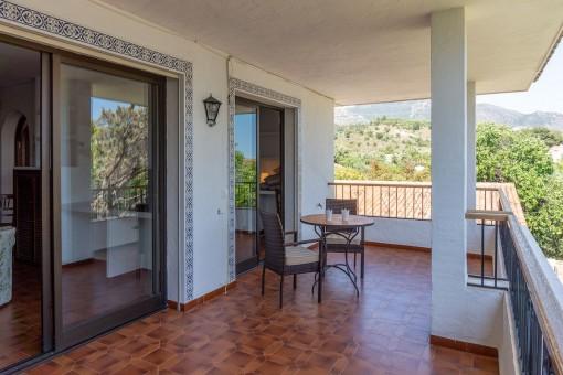 Villa 2 (1) - Covered terrace