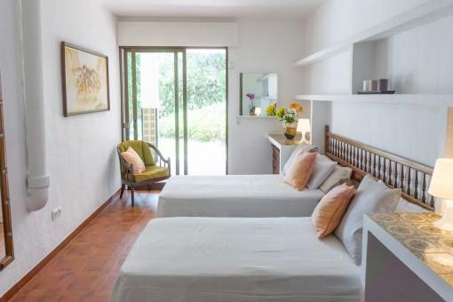 Villa 5 - Alternative view of the bedroom