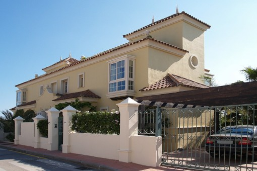 villa in Puerto Banús for long term rent