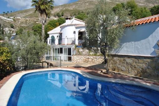 villa in Cómpeta