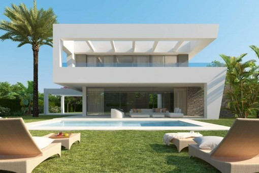 New and very modern villas in Rio Real, Marbella