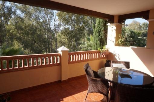 Great frontline golf apartment in Marques de Atalaya, Estepona